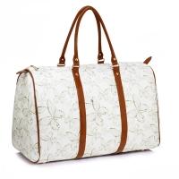 Dámská bílá cestovní taška Callie 479C 2968e9c2c59