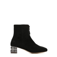 Dámské černé kotníkové boty Angela 2100 b488edaad4