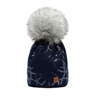 Námořnicky modrá čepice Woolk s potiskem… 303ceeb7a6
