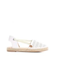 9a66c24a8d06 Dámské bílé sandály na podpatku Vinnie 8430 - Svět shopaholiků.cz