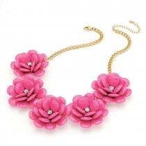 Růžový náhrdelník Helen 29264