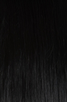 Vlasy Easy rings - 60 cm uhlově černá