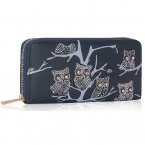 Dámská peněženka Owl 1046 námořnická modrá