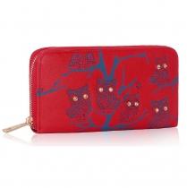 Dámská peněženka Owl 1046 červená