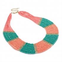 Barevný náhrdelník Dabria 29626