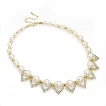 Krémový náhrdelník Babette 29465