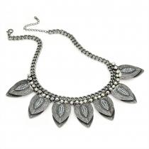 Šedý náhrdelník Belgin 29493