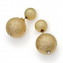 Náušnice ve zlaté barvě Vanessa 29474