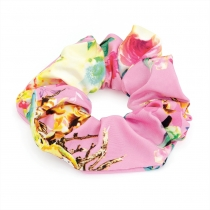 Růžová gumička do vlasů Varya 29445