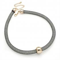Šedý náhrdelník Melissa 29540