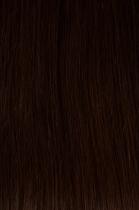 Vlasy s keratinem - 40 cm středně hnědá