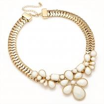 Krémový náhrdelník Petra 29217