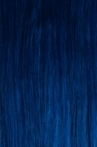 Vlasy s keratinem - 50 cm modrá, 10 pramenů