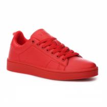 Dámské červené tenisky Pop 035