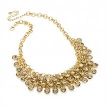 Hnědý náhrdelník Lena 29764