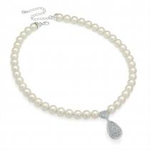 Bílý náhrdelník Sonya 29773