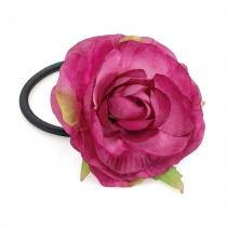 Růžová gumička do vlasů Dona 29658