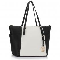 Dámská kabelka Cameron 350 černobílá