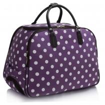 Dámská cestovní taška Dot 309 fialová