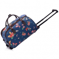 Dámská cestovní taška Nicki 308C námořnická modrá