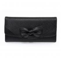 Dámská černá peněženka Lussy 1056A