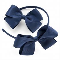 Modrá čelenka a sponka Kate 29968
