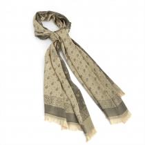 Dámský zlatý šátek Pam 30151