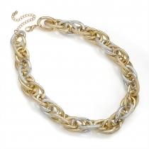 Tříbarevný náhrdelník Sense 30045