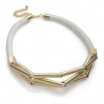 Bílý náhrdelník Felicita 30078