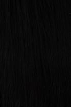 Vlasy s keratinem - 50 cm přírodní černá 50 pramenů