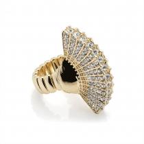 Prsten ve zlaté barvě Gabi 30129