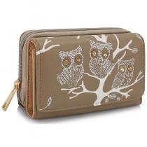 Dámská peněženka Owl 1045 tělová