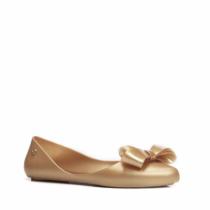 Dámské zlaté baleríny Pamela 075