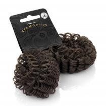 Hnědé vlasové donuty 27236 - 2 ks
