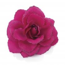 Tmavě růžová sponka do vlasů Rosie 27433
