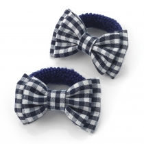 Dvě modré gumičky do vlasů 28138