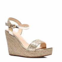Dámské zlaté sandály Birke 2013