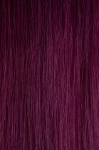Vlasy s keratinem - 50 cm fialová, 10 pramenů