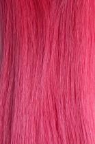 Vlasy s keratinem - 50 cm růžová, 10 pramenů