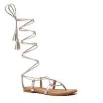 Dámské zlaté sandály Blance 6011