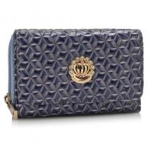 Dámská modrá peněženka Krone 1067