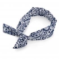 Modrá čelenka do vlasů Paisley 30242