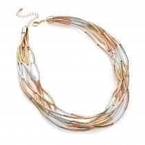 Tříbarevný náhrdelník Koli 30326