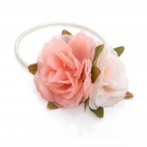 Růžová gumička do vlasů Holly 30246