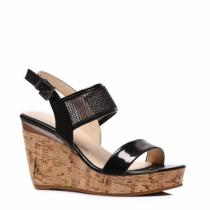 Dámské černé sandály Houdy 2009