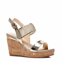 Dámské zlaté sandály Houdy 2009