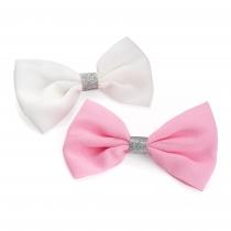 Dvě sponky do vlasů Pink 30254