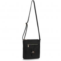 Dámská černá kabelka Tonia 428