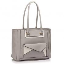 Dámská šedá kabelka Frances 487
