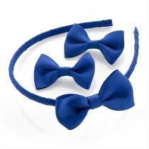 SET: Modrá čelenka a sponky do vlasů 29947